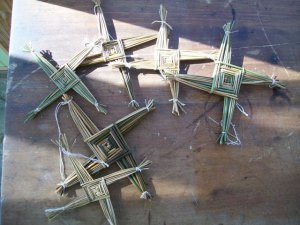 Find St. Brigid's crosses on Etsy!